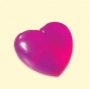 Molde Duplo (3D) Coração Peq.